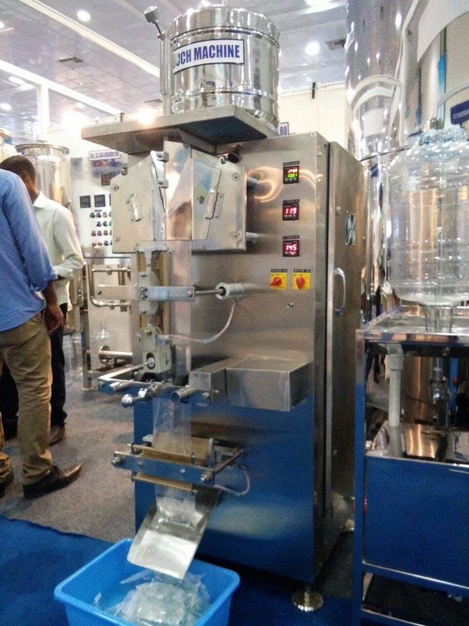 water pouch packing machine1