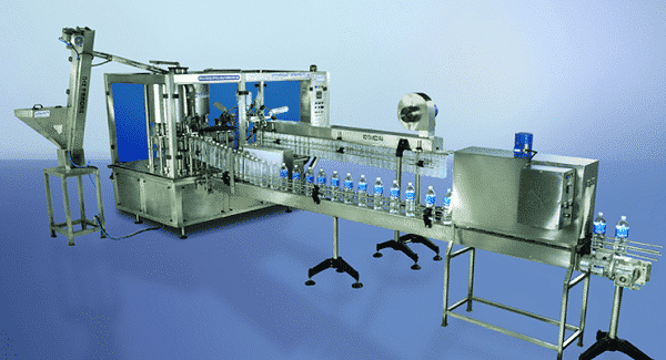 Bottling plant, bottle filling machine, water bottle filler